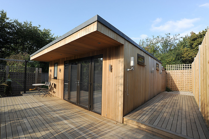 Quality builders decorators operating in south west for Bespoke garden rooms