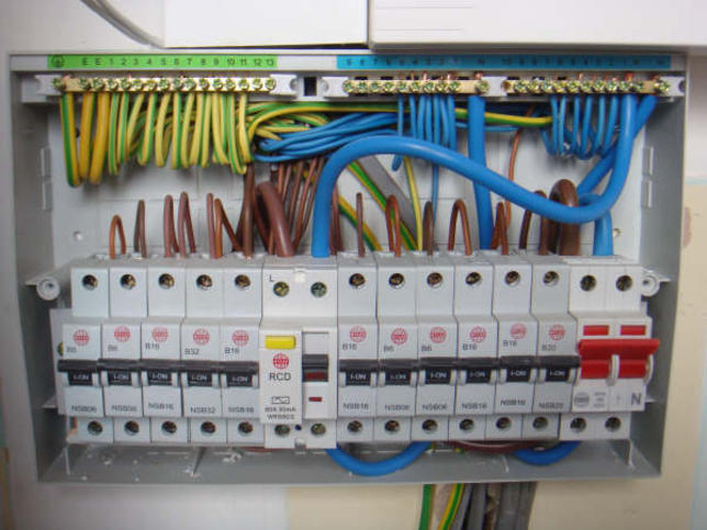 Electrical work deen builders for Best electrical panel for house